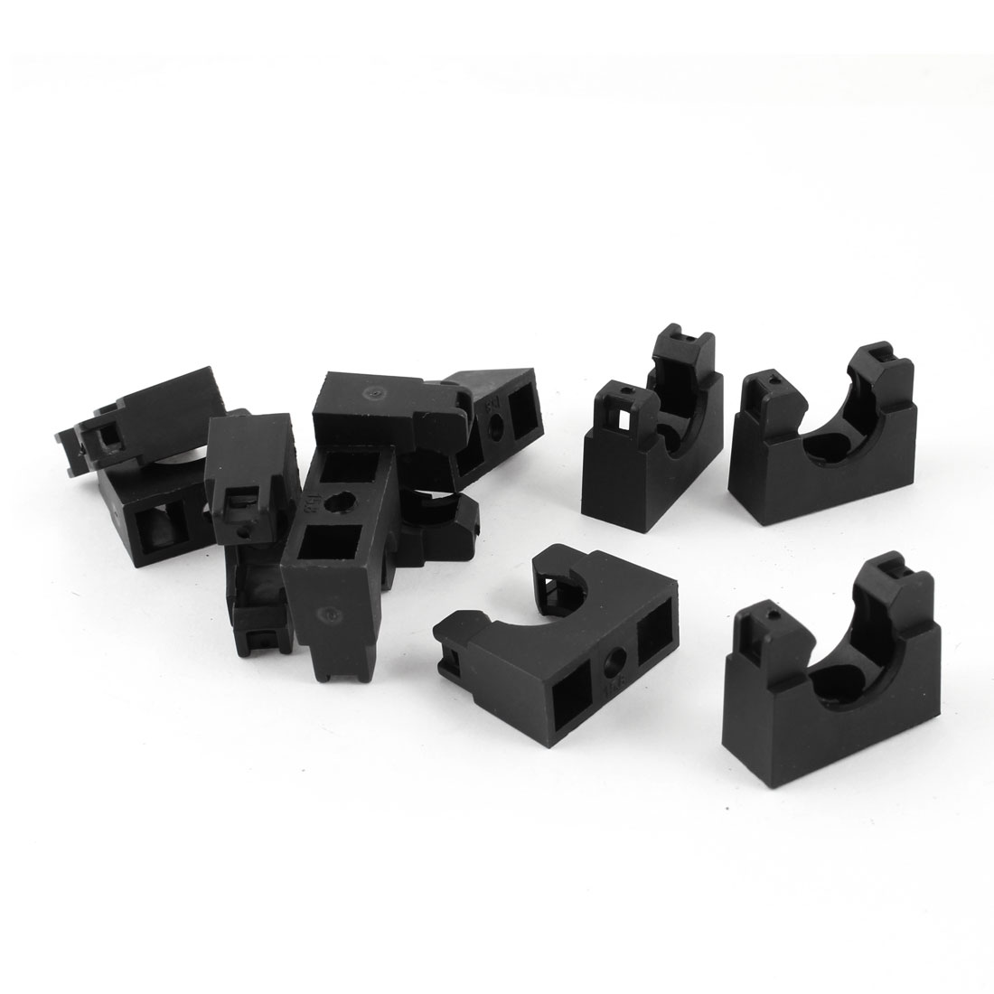 AD15.8 Flexible Pipe Conduit Plastic Mounting Stand Bracket 10pcs
