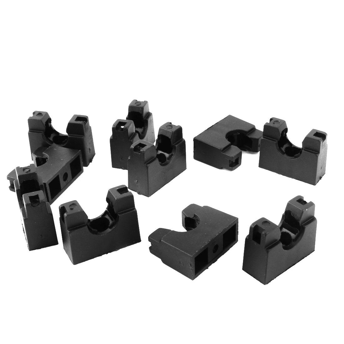 AD13 Flexible Pipe Conduit Plastic Mounting Stand Bracket 10pcs