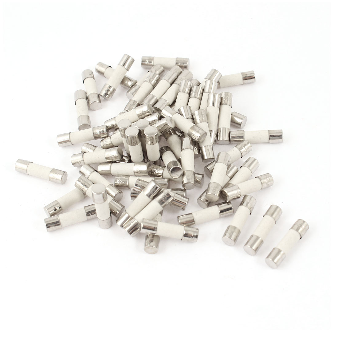 80pcs 5mmx20mm Quick Fast Blow Ceramic Fuses 250 Volts 25Amp