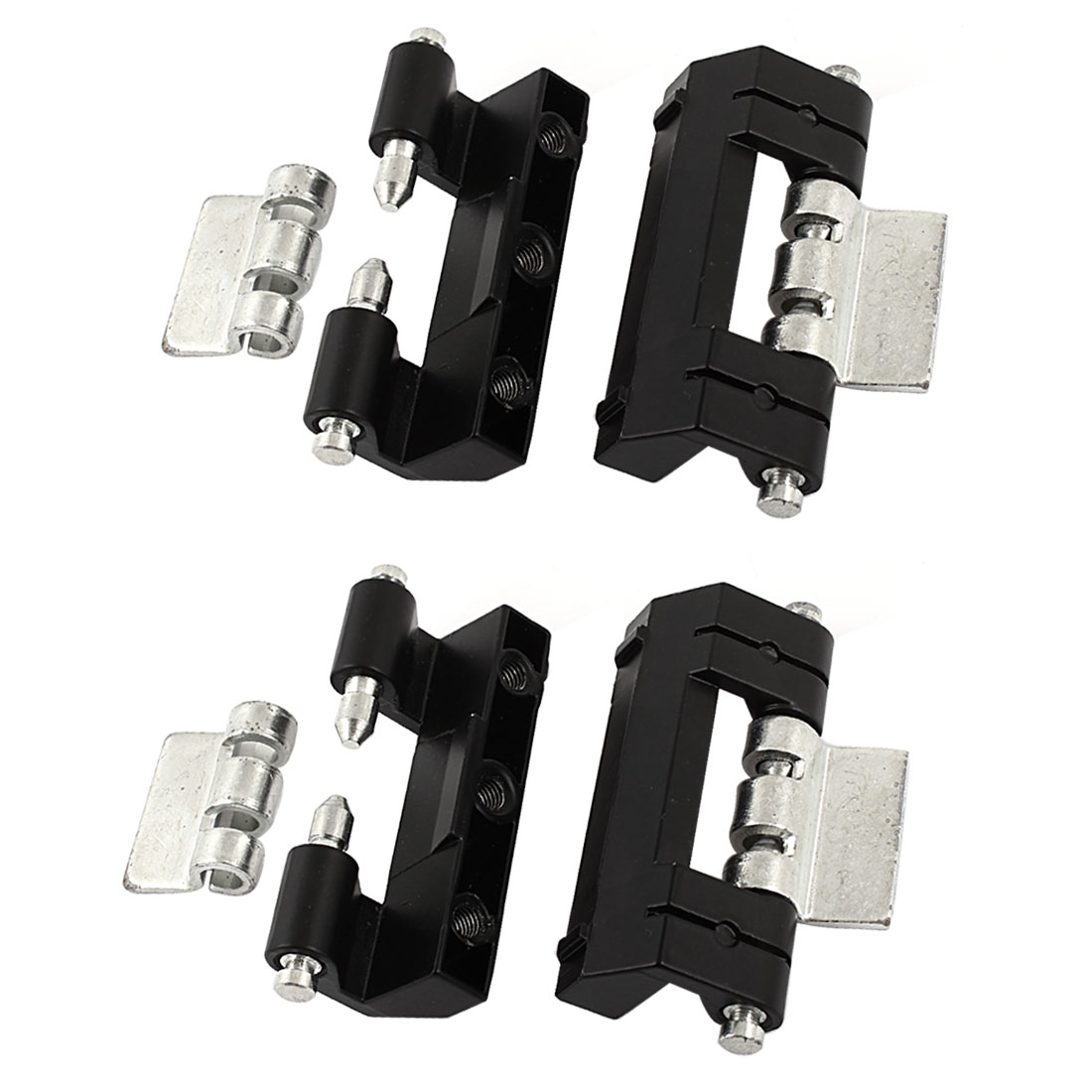 4pcs Cabinets Door Zinc Alloy Concealed Hidden Hinge