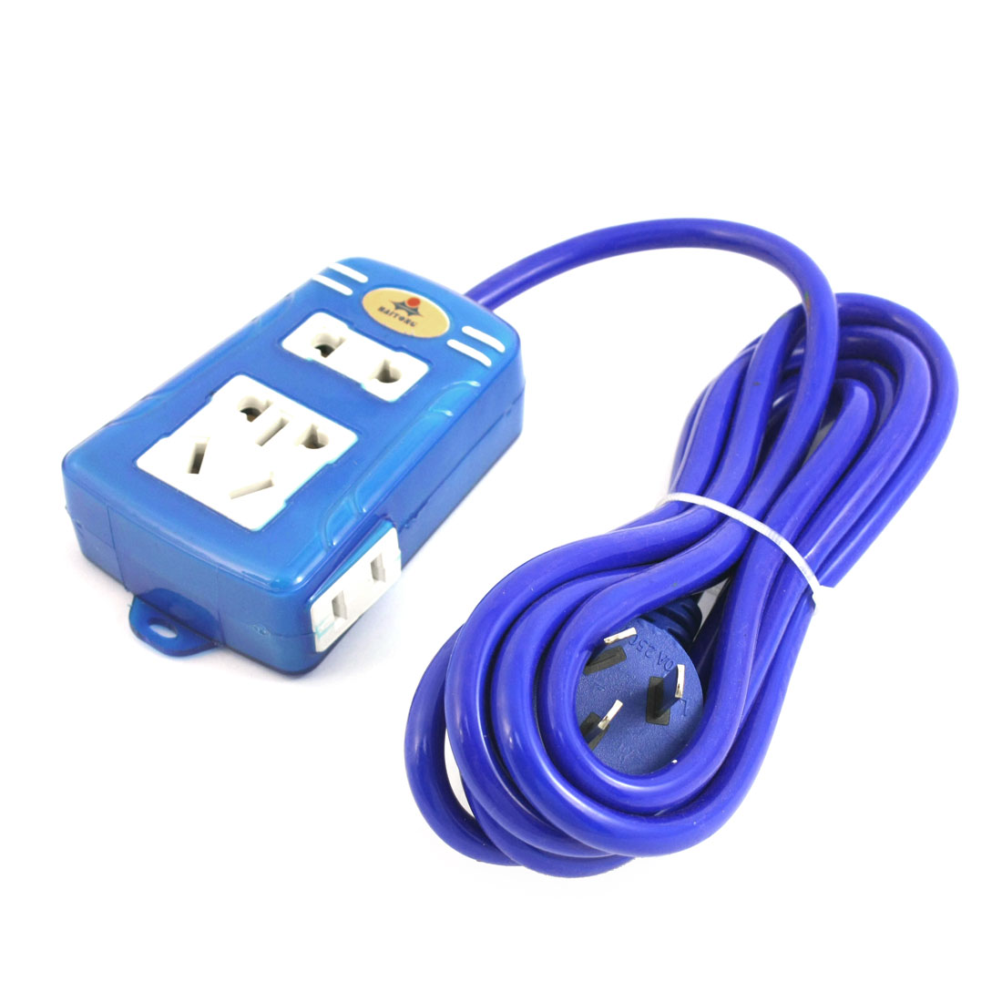 AU Plug AC 250V 16A 5 Way 5000W US EU AU Extension Socket Power Strip 3 Meter