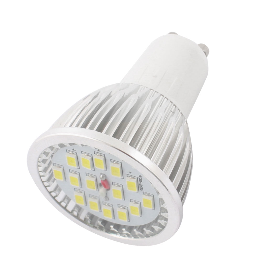GU10 5730 SMD White Lighting 15 LEDs 3500K 6W Spot Light AC 85-265V