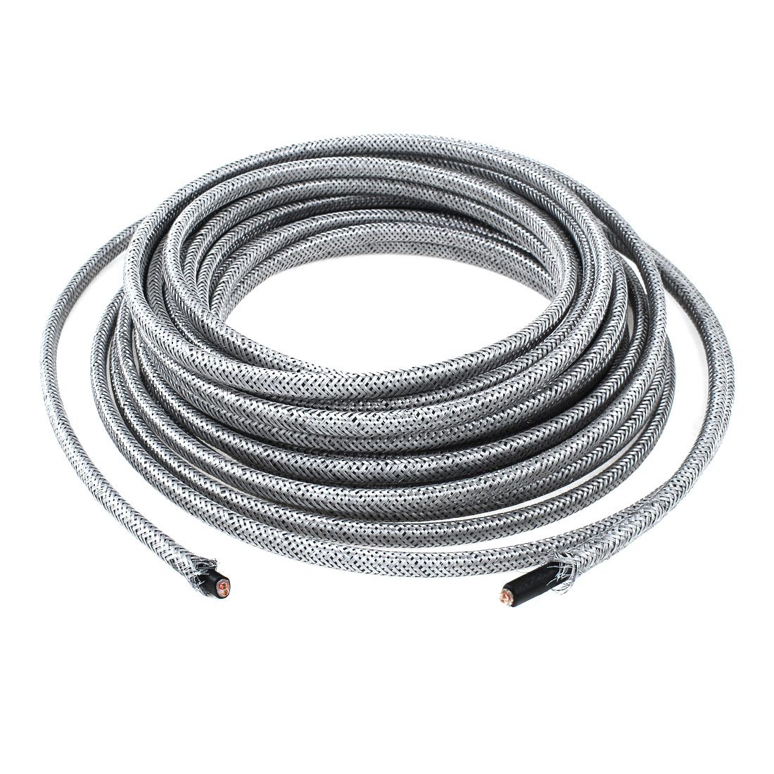 Gray High Temperature Resistance Cable Wire 220V 10M x 7.5mm