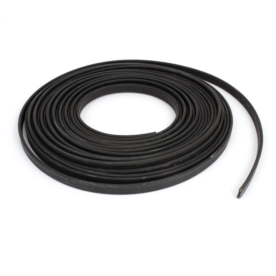 Black Inflaming Retardant Waterproof Heating Cable 36V 10M x 11mm