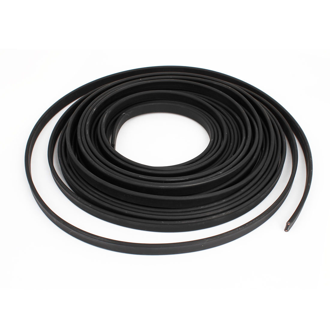 Black Corrosion Prevention Waterproof Heating Cable 36V 10M x 13mm