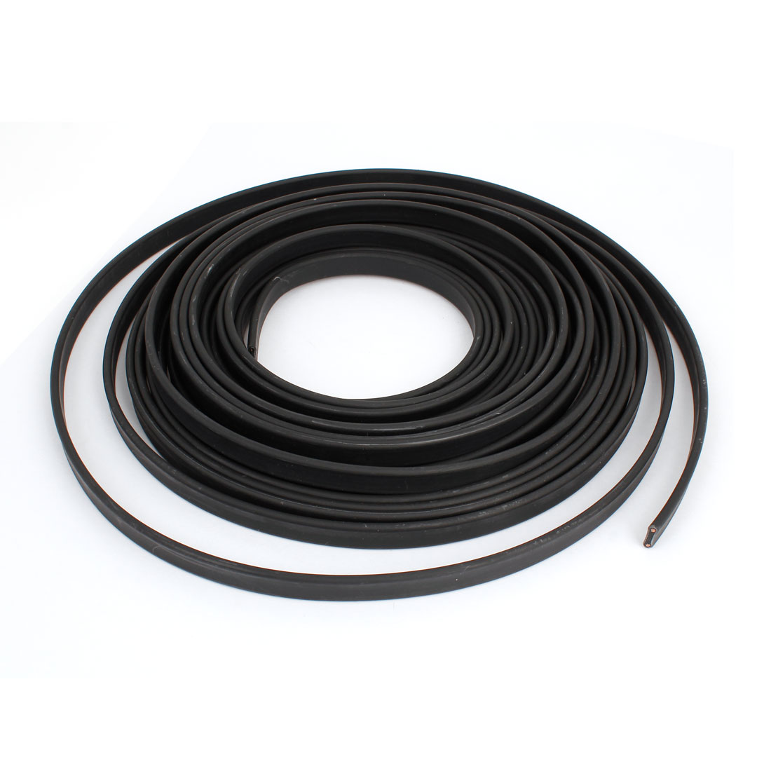 Black Inflaming Retardant Waterproof Heating Cable 380V 10M x 11mm
