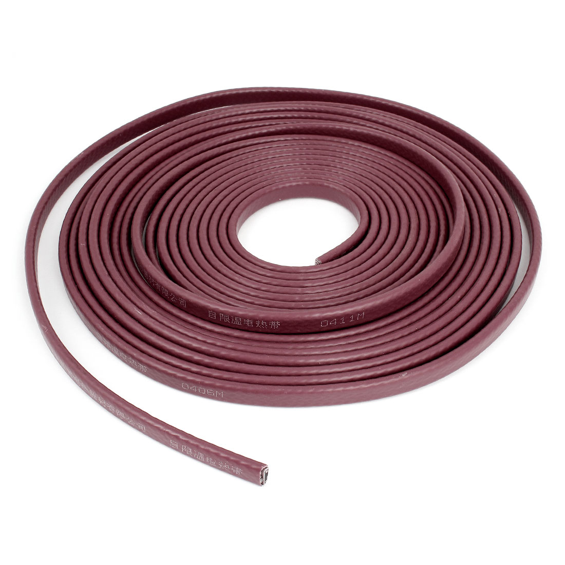 Brick Red Corrosion Prevention Waterproof Heating Cable 220V 10M x 13mm