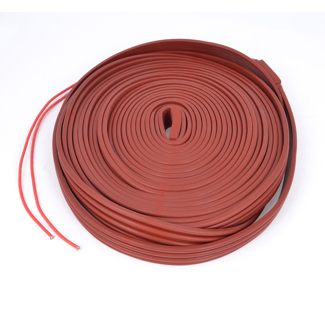 Brick Red Pipeline Waterproof Heating Cable 220V 10M x 25mm