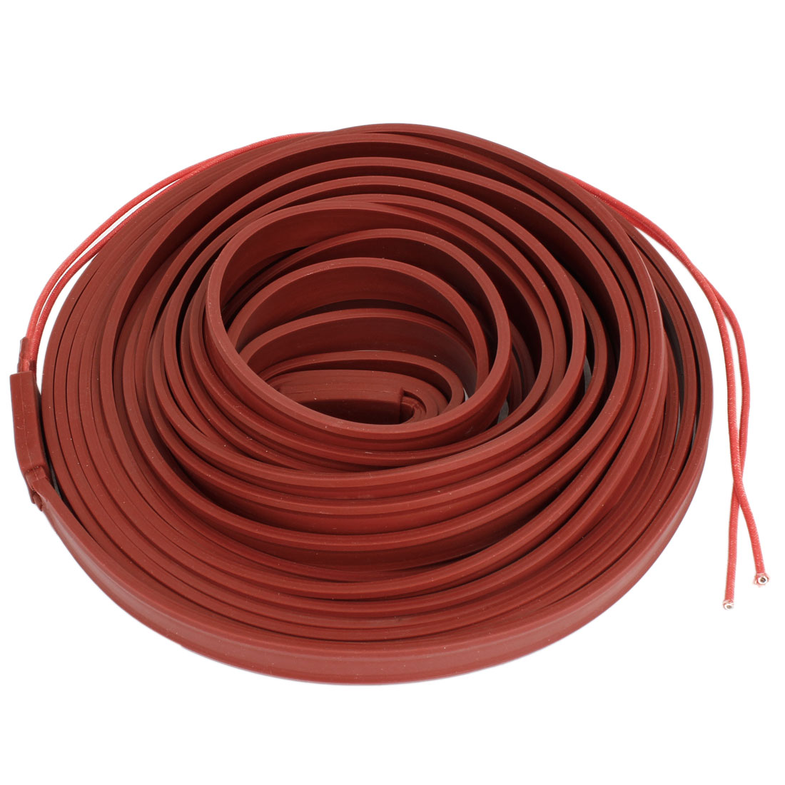 Brick Red Pipeline Waterproof Heating Cable 220V 10M x 15mm
