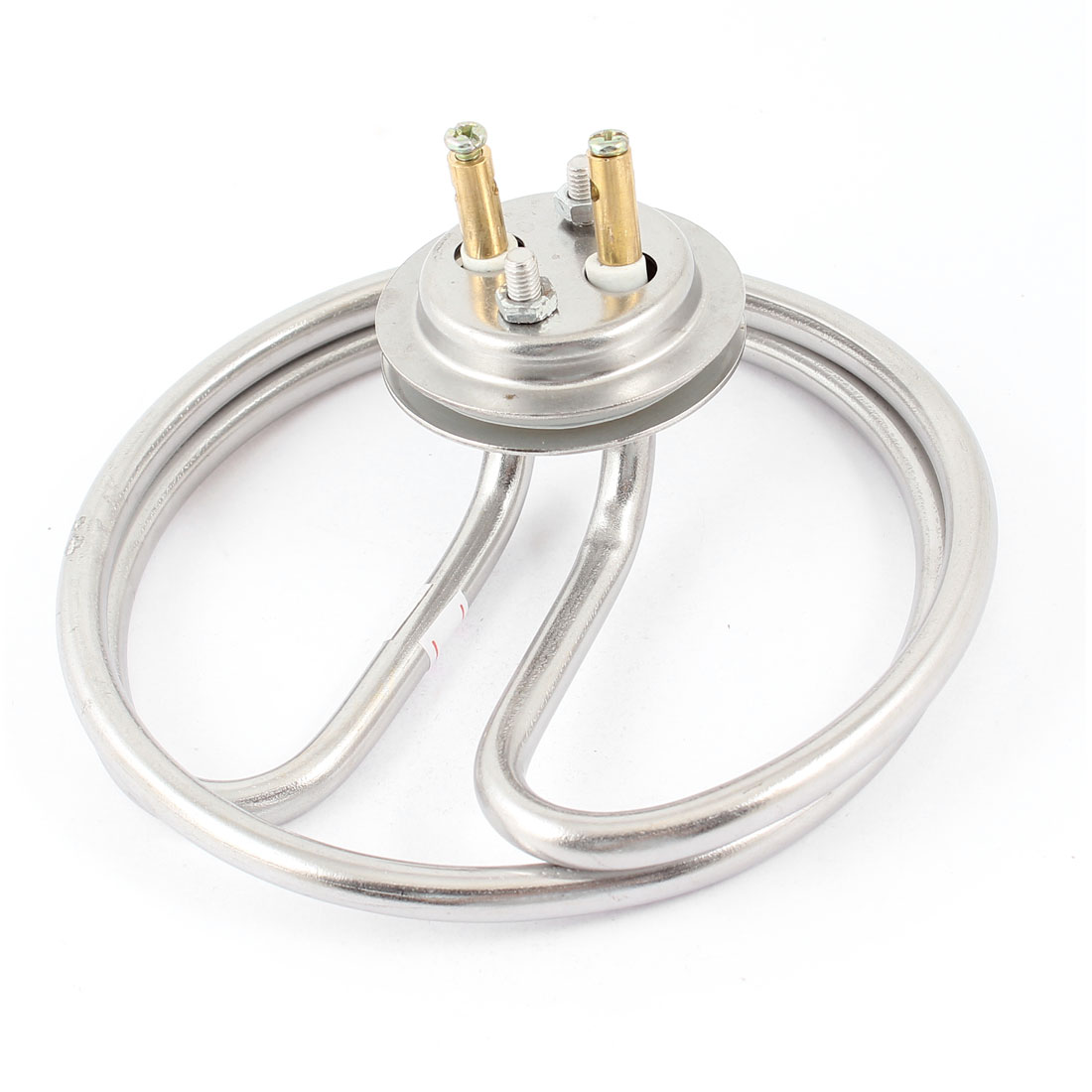 AC220V 3KW Stainless Steel Electric Heating Tube Water Heater Element Silver Tone