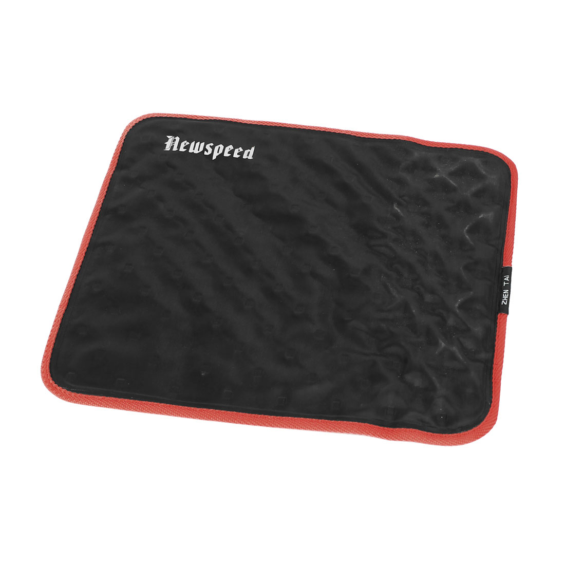 Notebook Laptop Black Red Cooling Pad Mat Heatsink 35cm x 31cm