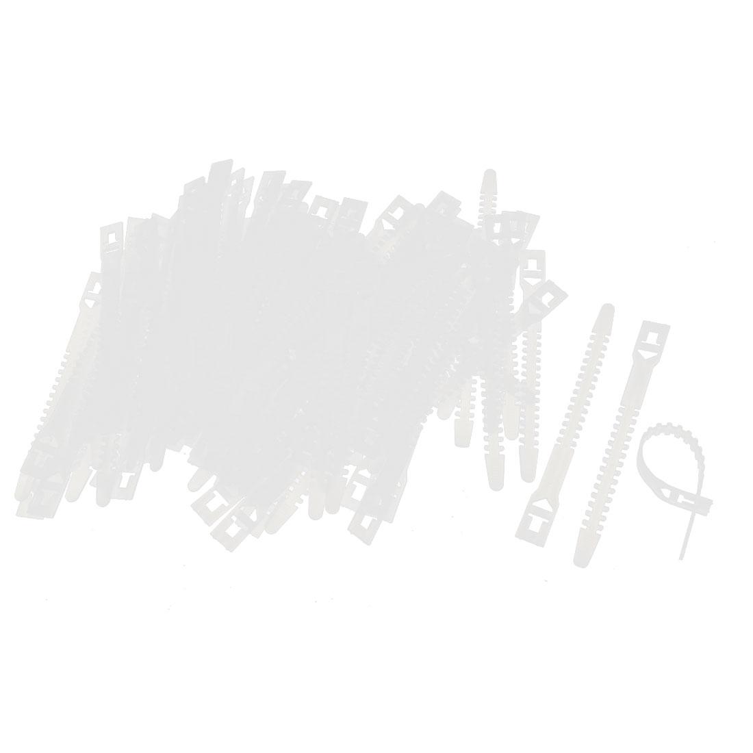 500 PCS Self Locking Plastic Cable Wire Zip Tie Fasten Wrap 10mmx150mm