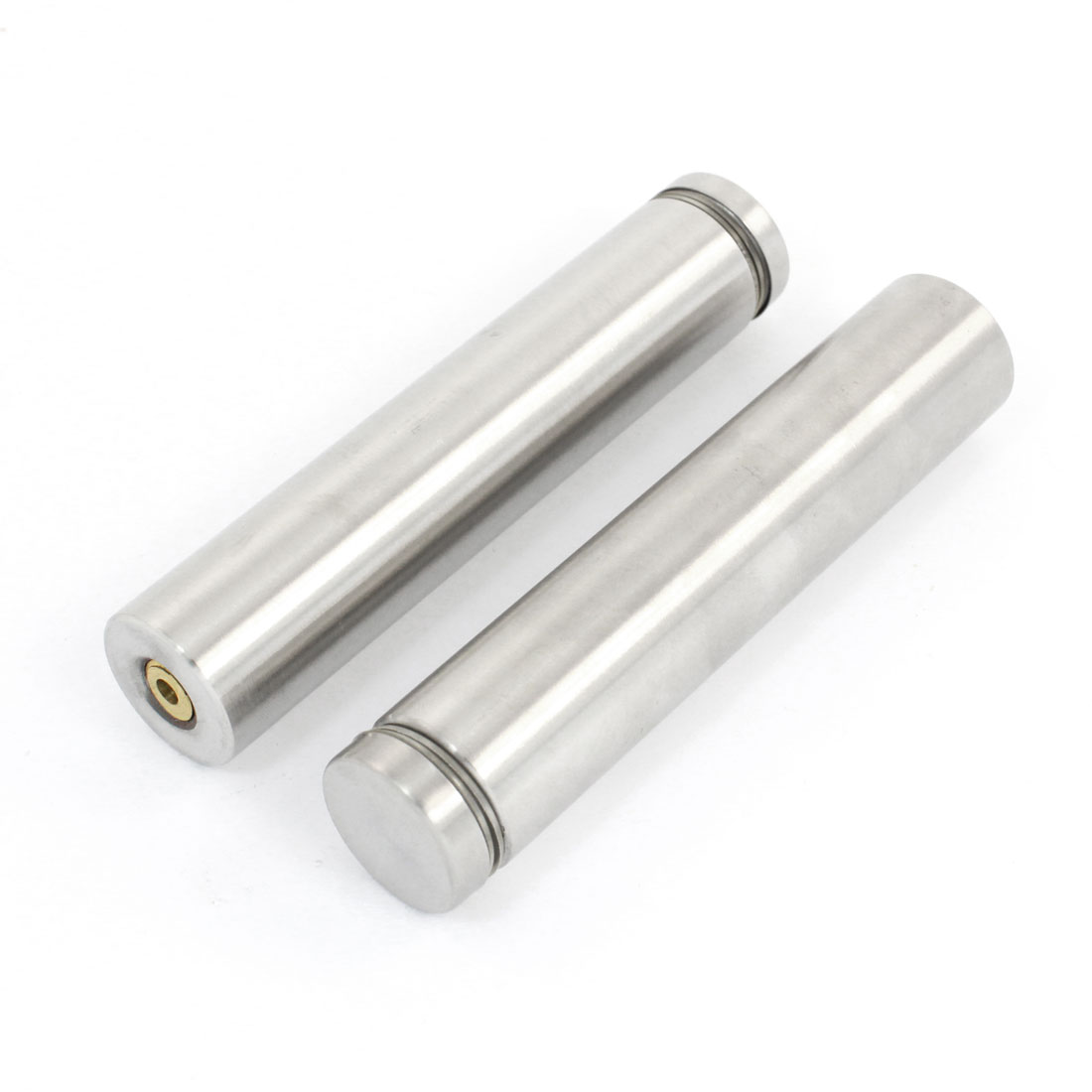 2PCS Hardware 25mm Dia 120mm Long Stainless Steel Round Standoff for Glass