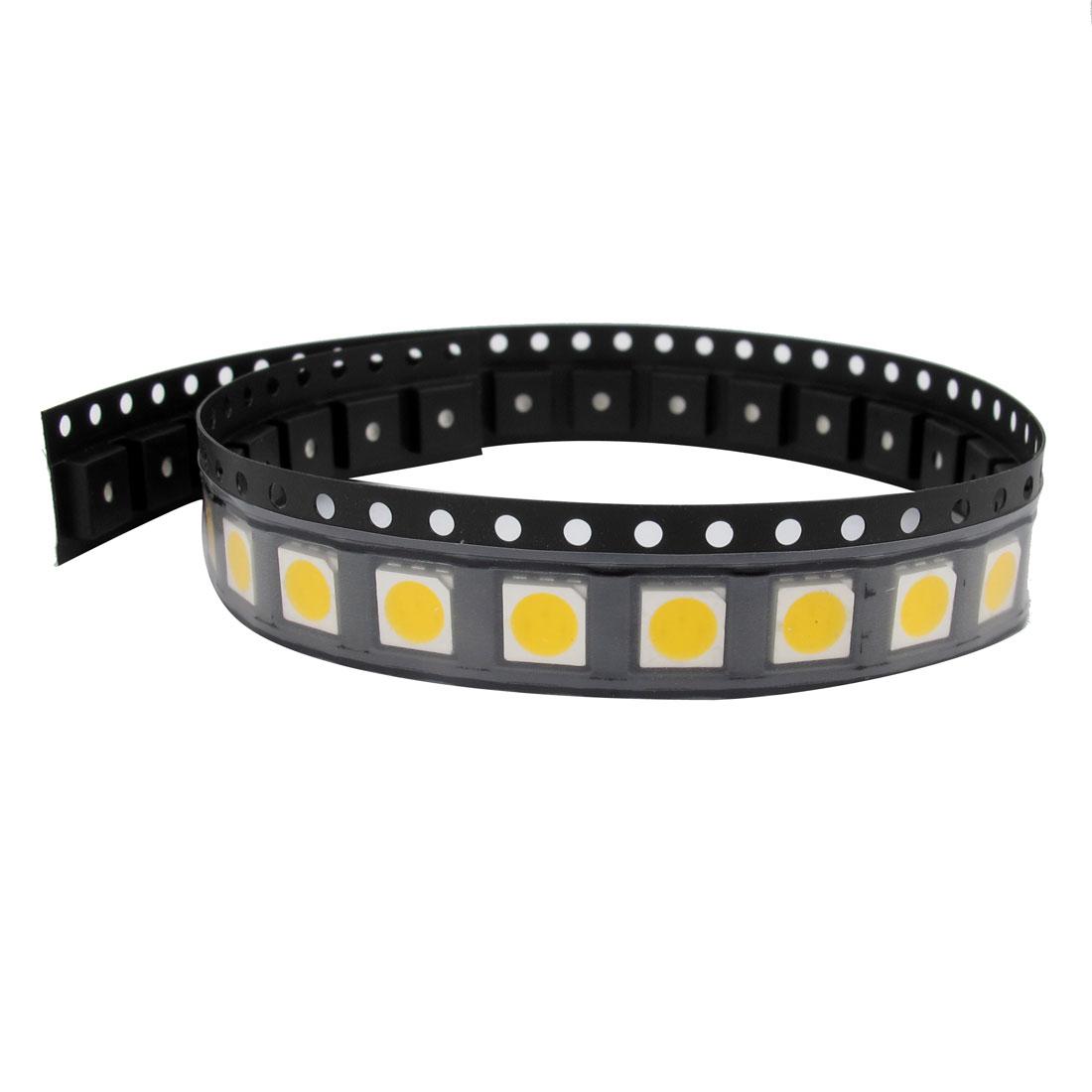 30 Pcs Super Bright SMD 5050 LED Lamp Warm White Light Emitting Diodes