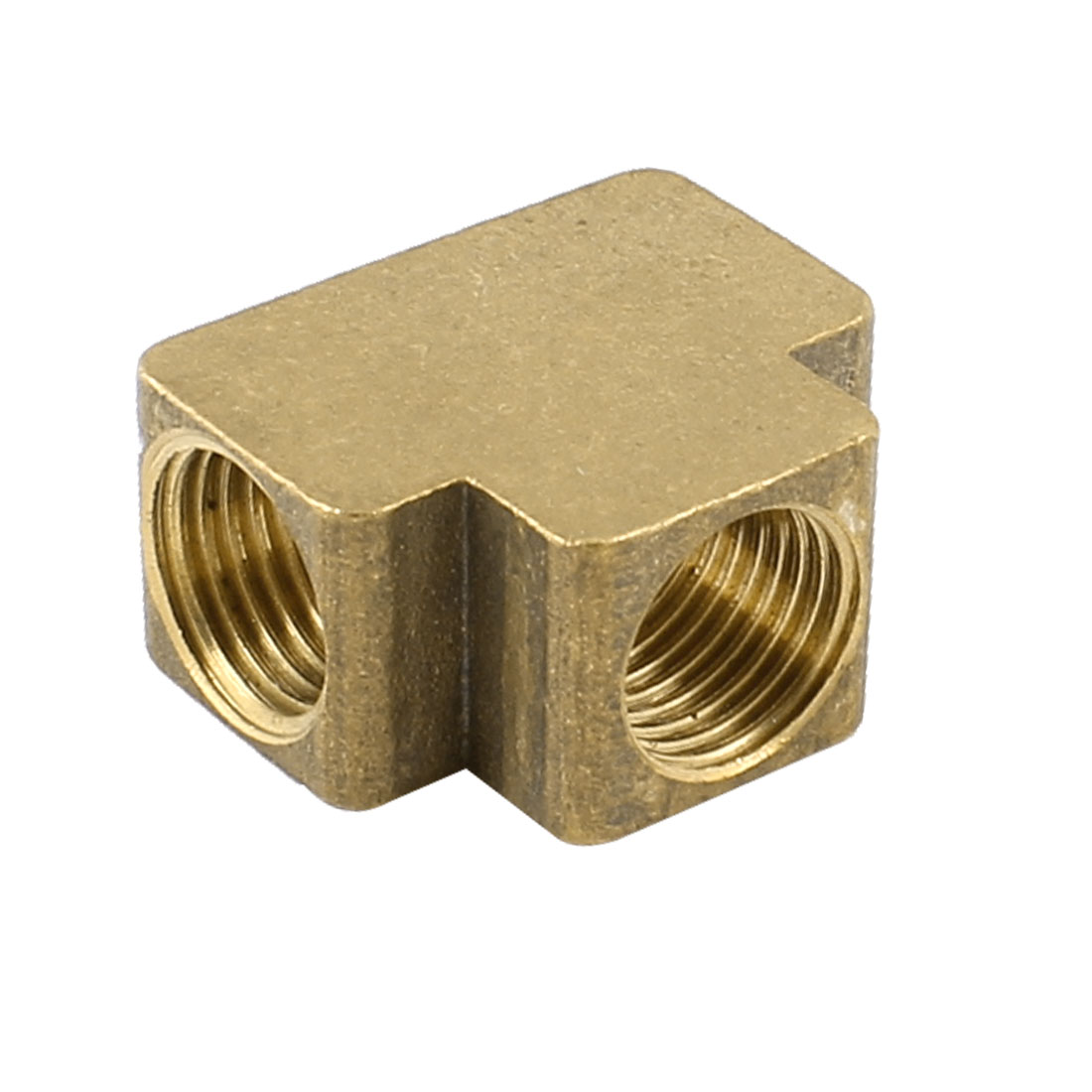 1/4PT Female Thread Brass 3 Ways Connector Water Pipe Fittings Coupler