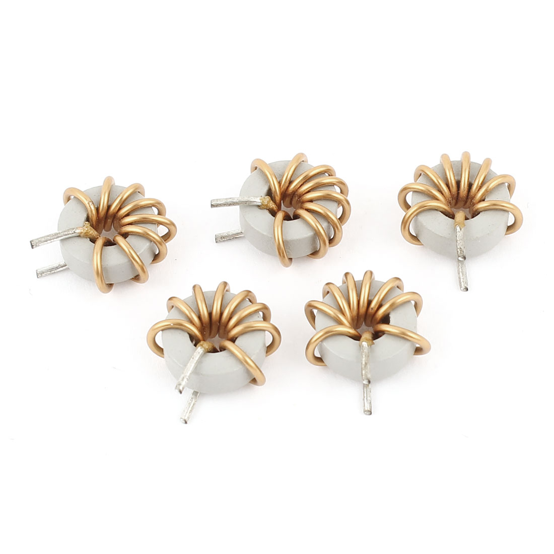 5 Pcs 1mm Dia Copper Wire Ferrite Core Toroid Toroidal Inductor 5.6uH Inductance