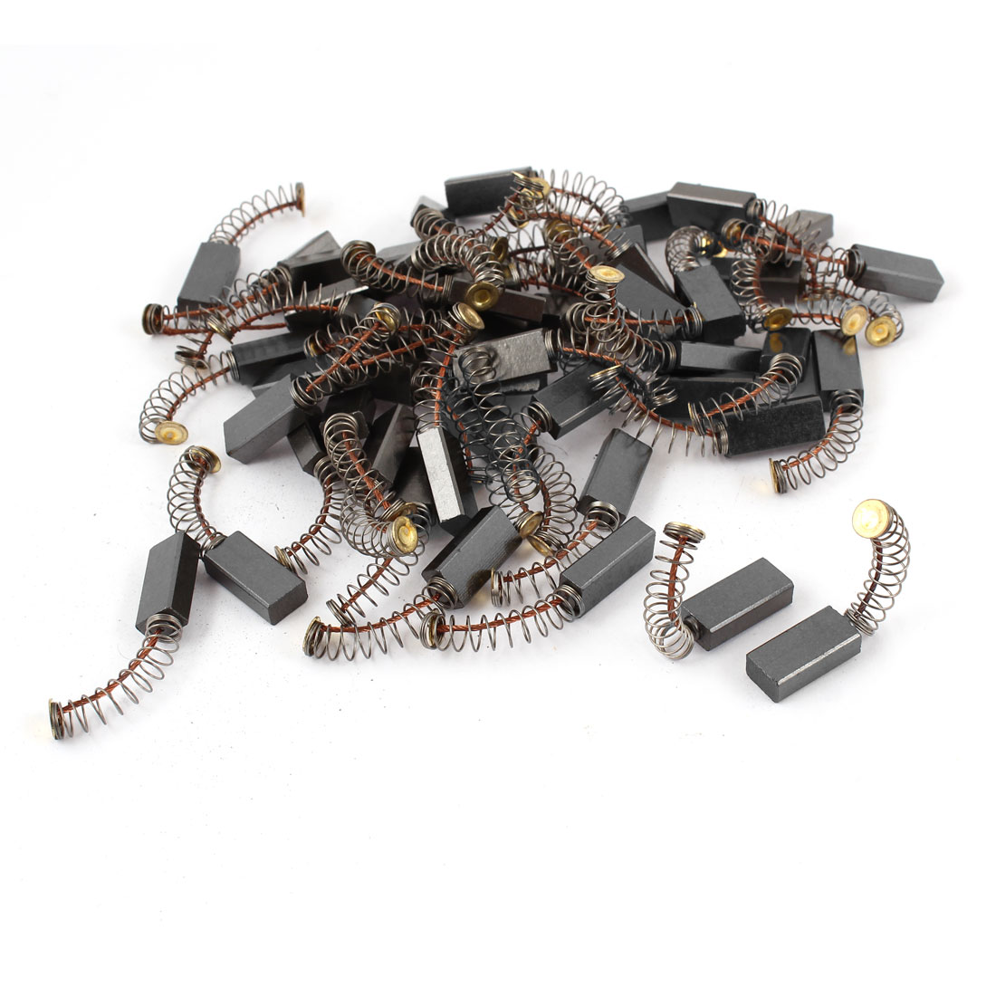 30 Pcs 17mm x 8mm x 5mm Carbon Brushes for Generic Electric Motor
