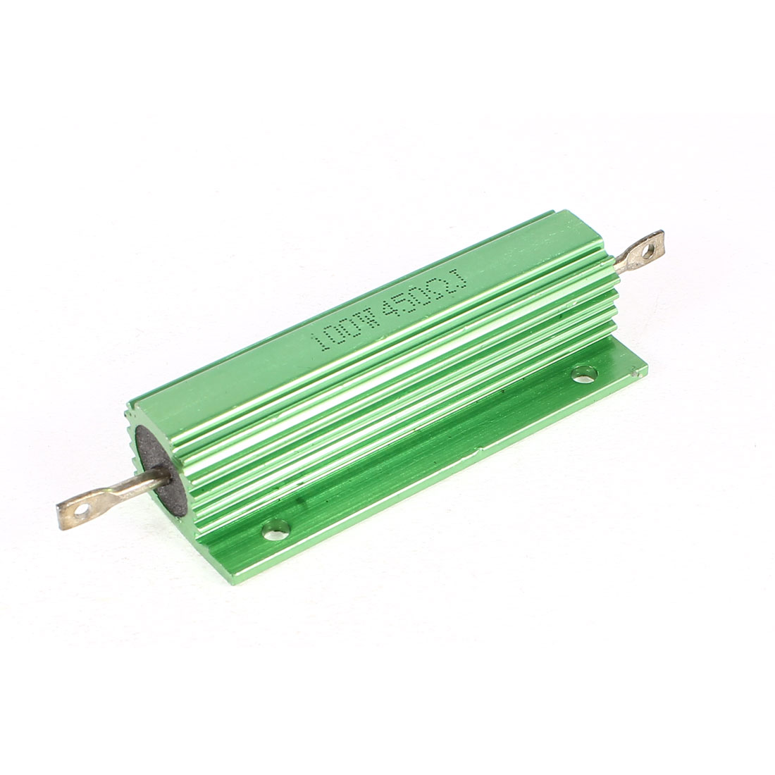 5% 100W 450 Ohm Wirewound Aluminum Housed Resistor Green