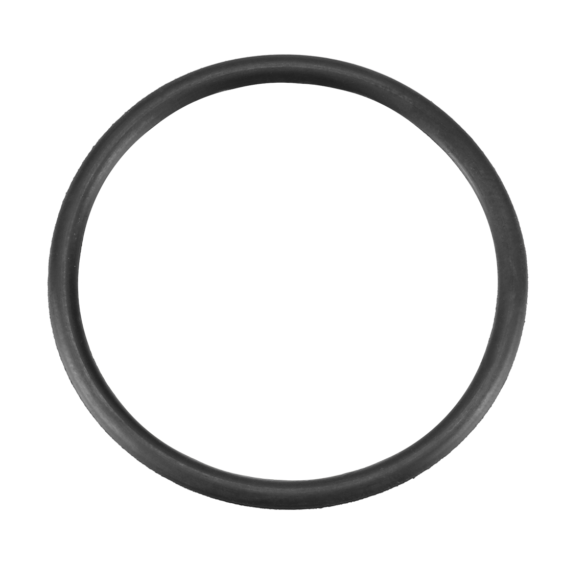 38mmx2.4mmx33.2mm Black Nitrile Rubber Sealing O Ring Seal Washer Grommets 10 Pcs