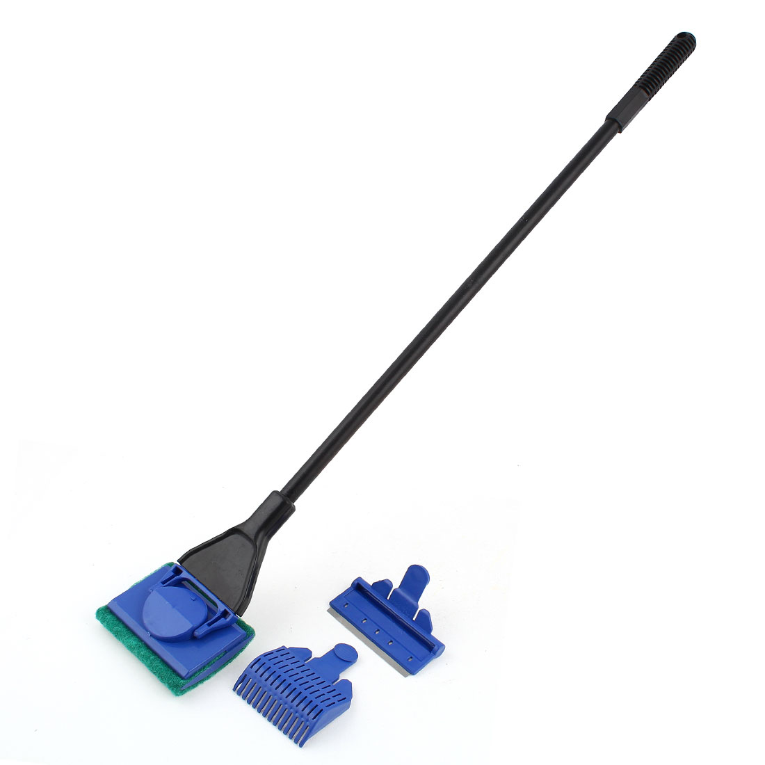 Fish Tank Black Green Rotatable Sponge Cleaning Brush Cleaner Scrubber
