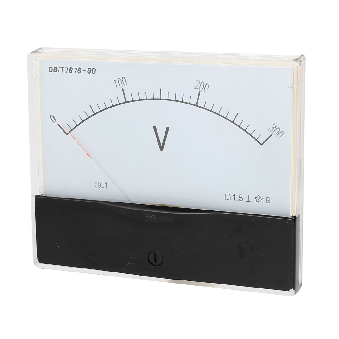 Rectangle Measurement Tool Analog Panel Voltmeter Volt Meter AC 0-300V Measuring Range 59L1