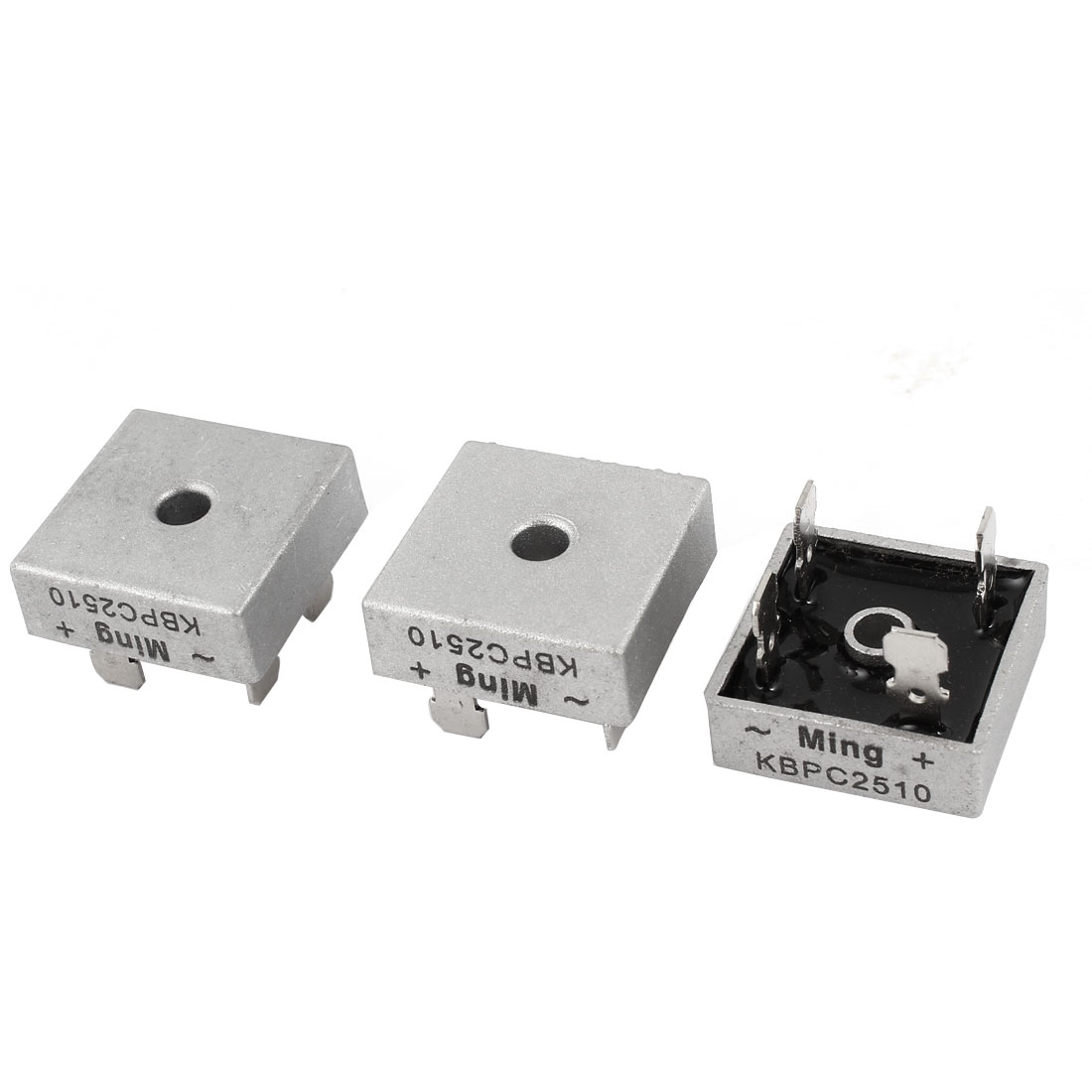 3 Pcs KBPC2510 Single Phase Diode Bridge Rectifier 25A 1000V