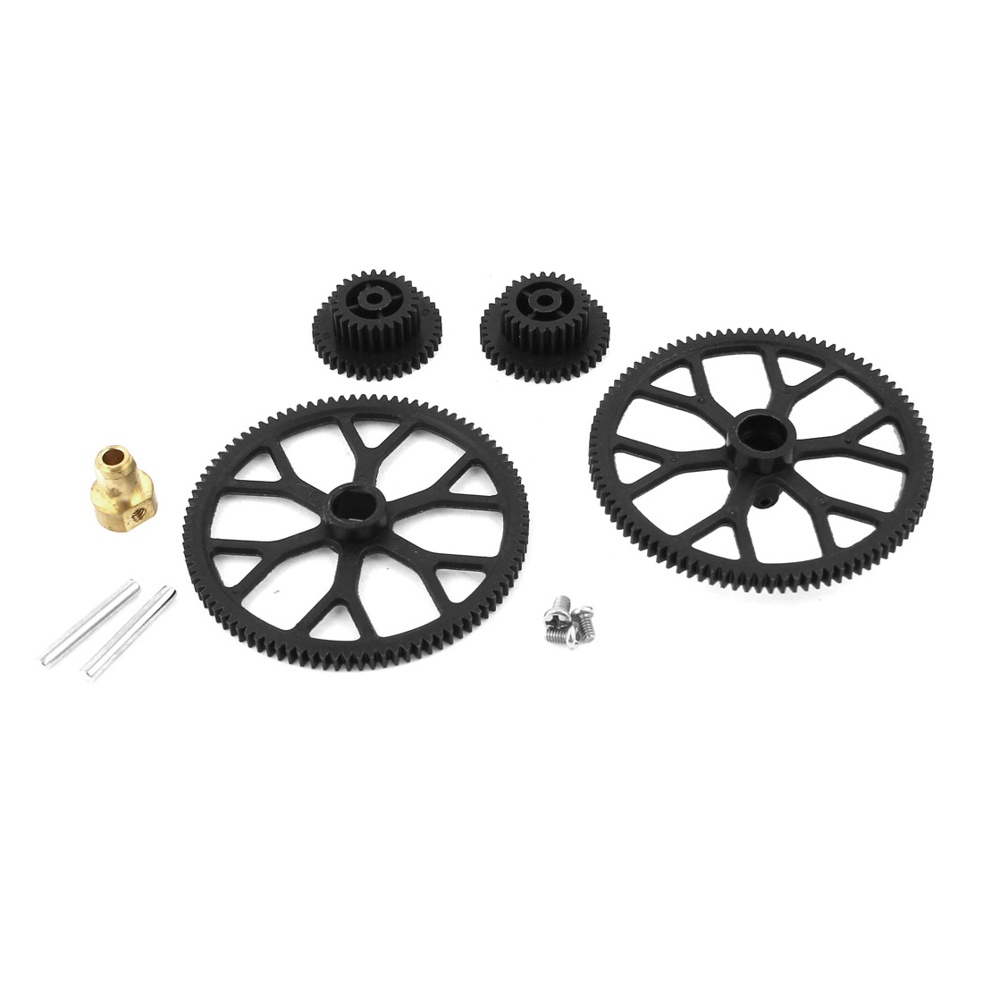 RC Helicopter Spare Parts + Top Bottom Main Gear Kit for Double Horse 9101