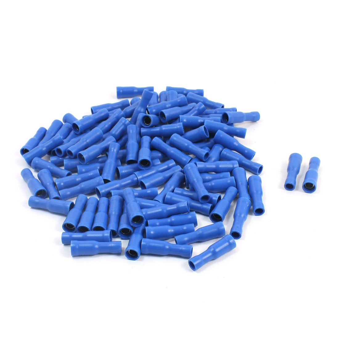 100Pcs 16-14 AWG FRD2-156 Blue PVC Sleeve Insulated Cable Terminals Crimp