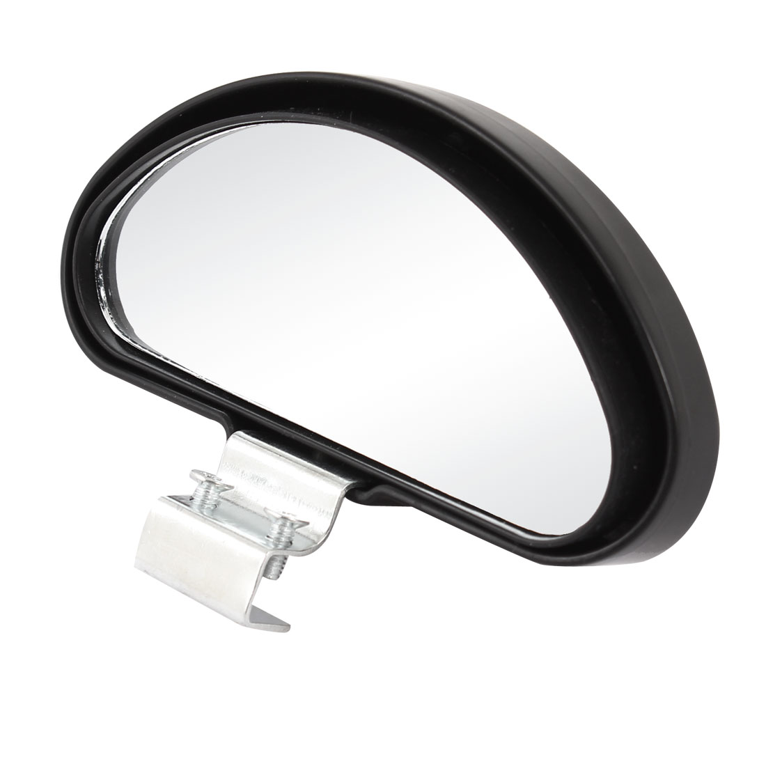 Car Auto Arch Wide Angle Flat Blind Spot Mirror Black 100mm x 43mm