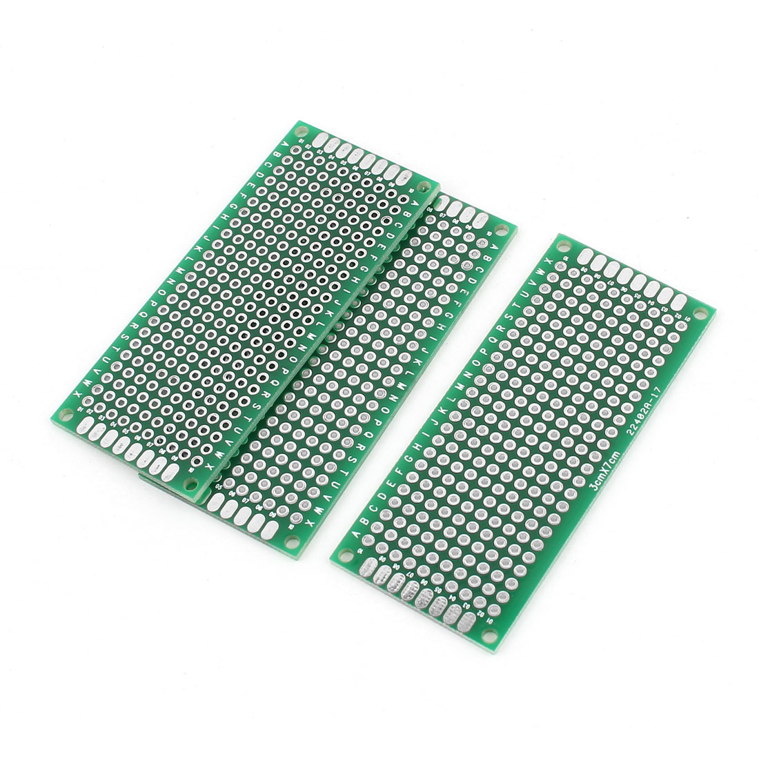 3 Pcs Universal Dual Side DIY Prototype PCB Board 3cmx7cm