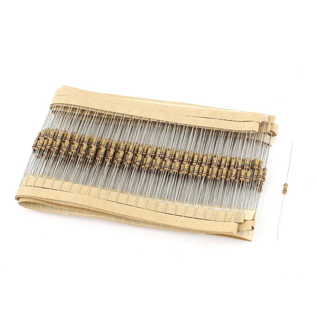 400 Pcs 180K Ohm 0.25W 5% Tolerance Axial Leads Type Carbon Film Resistors
