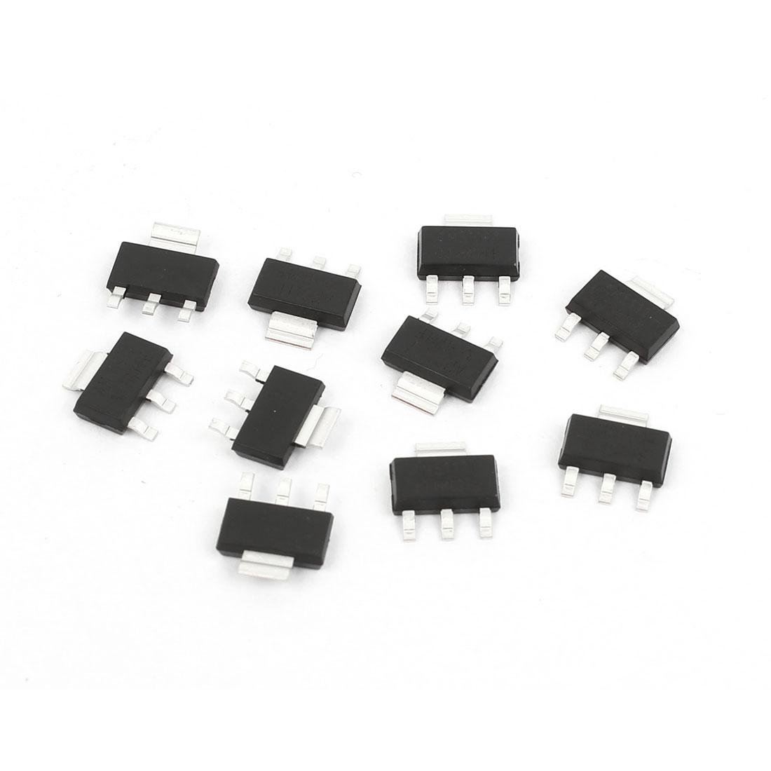 10 Pcs AMS1117-3.3 3.3V SOT-223 Low Dropout Voltage Linear Regulator IC