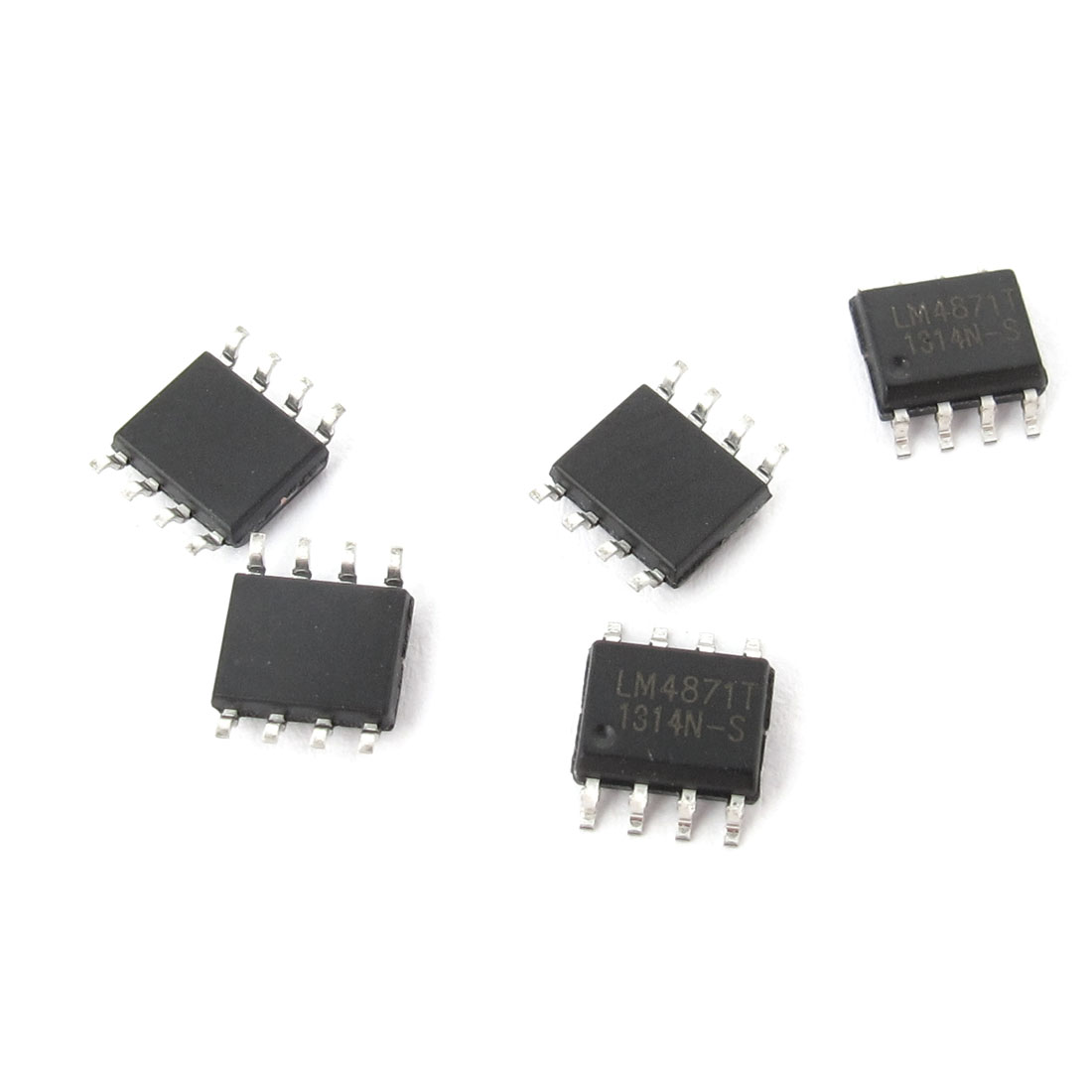 5 Pcs LM4871 SOP-8 8Pin Audio Power Amplifier IC Chip 1.1W 1.1 Watt