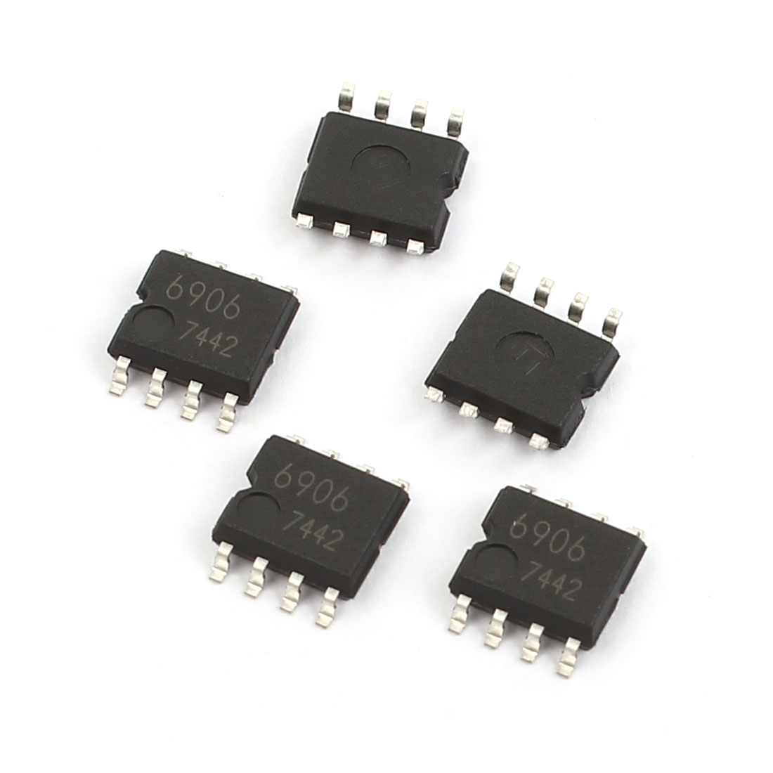 5 Pcs BA6906F SOP-8 Single-Phase Full-Wave Motor Driver IC Chip for Fan Motor
