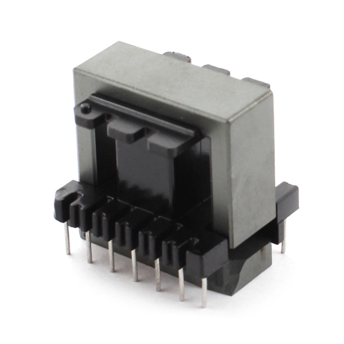 Black Transformers EI33 Ferrite Core w 14 Pin Plastic Bobbin Coil Former