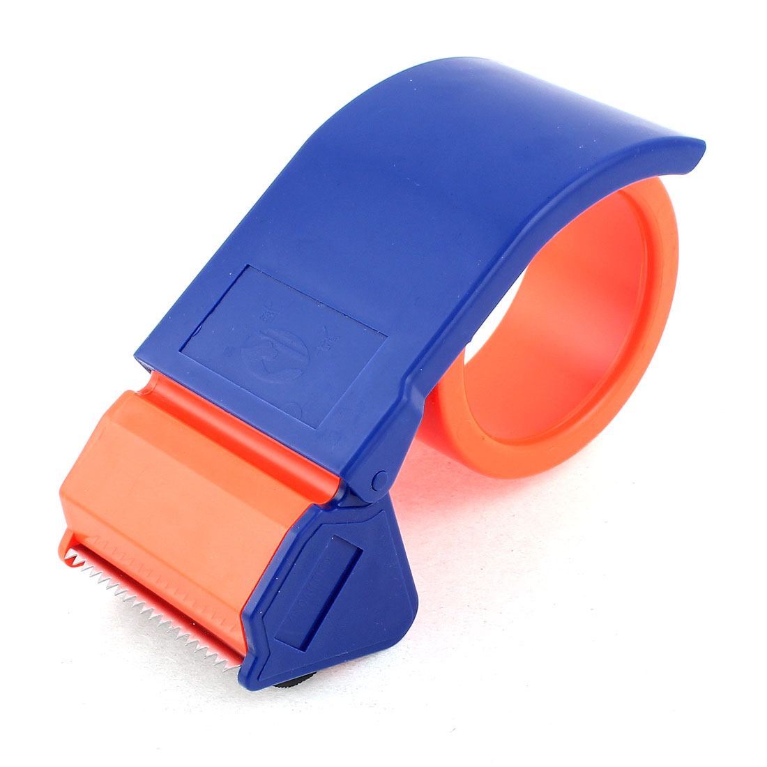 Portable Package Tool Adhesive Tape Dispenser Cutter Orange Red Blue