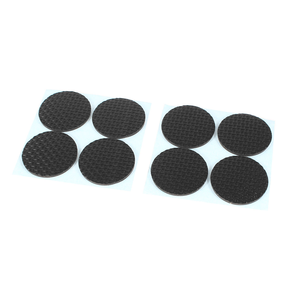 8 Pcs Tables Chairs Furniture Protection Round Pad Black for Home