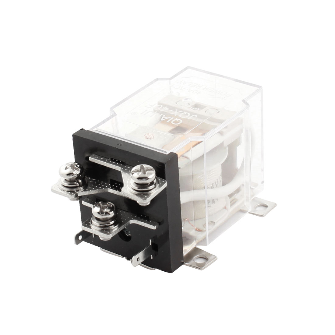 JQX-40F 40A DC 24V Coil Electromagnetic Relay