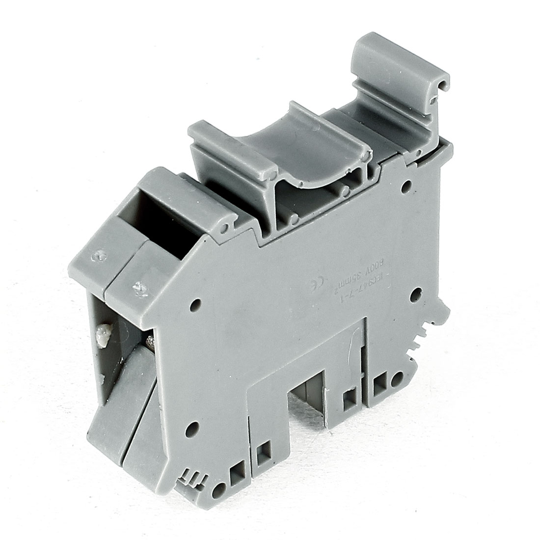 UIK-35 800V 125A 35mm 2 Wire Area Screw Clipping Terminal Block Connector Gray