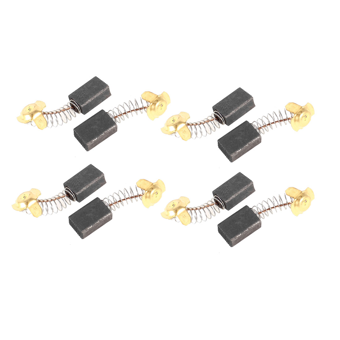 40mm Total Length Motor Carbon Brushes Replacement 8 Pcs