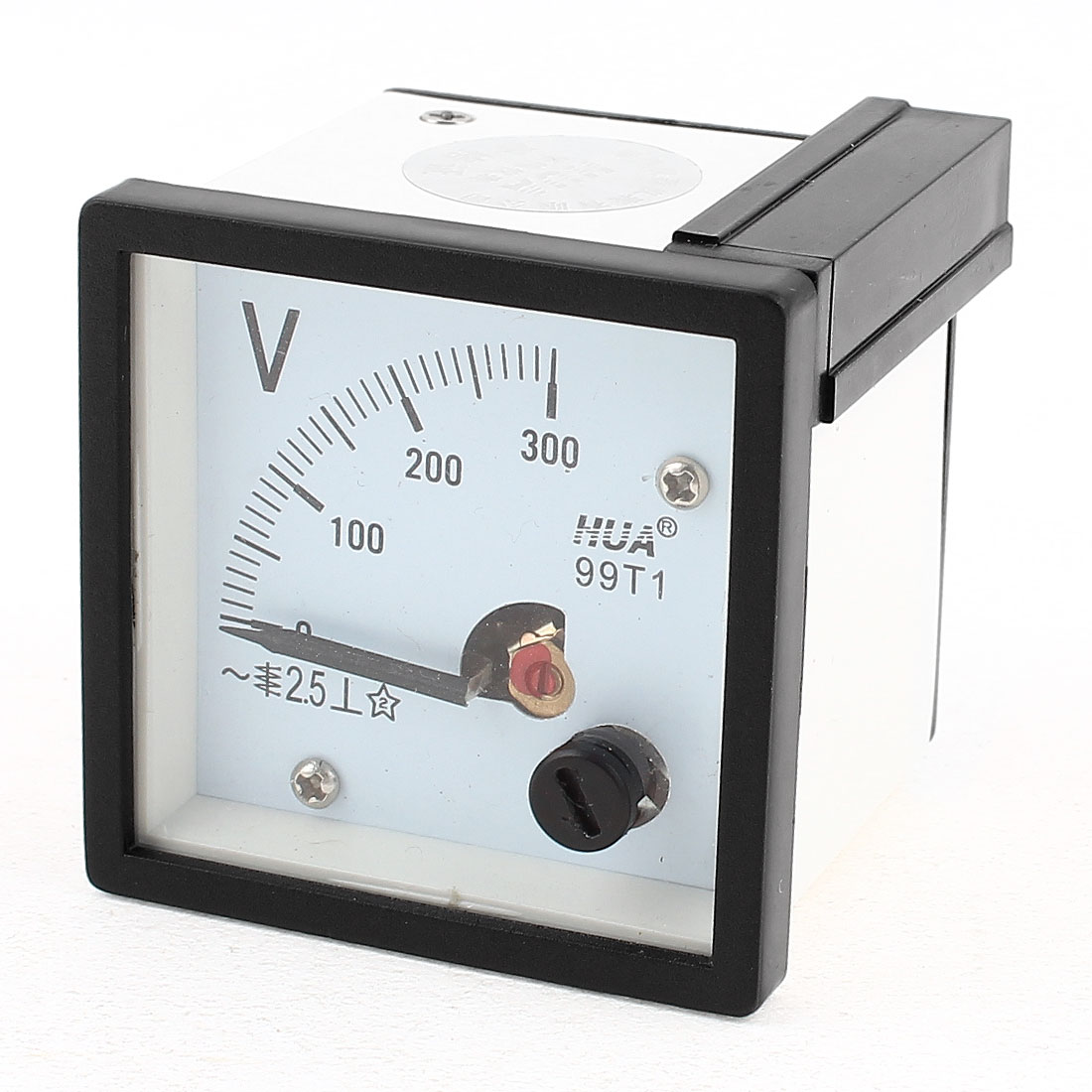 AC 300V Measuring Range Panel Mounting Voltmeter 99T1-AV 46mm x 46mm