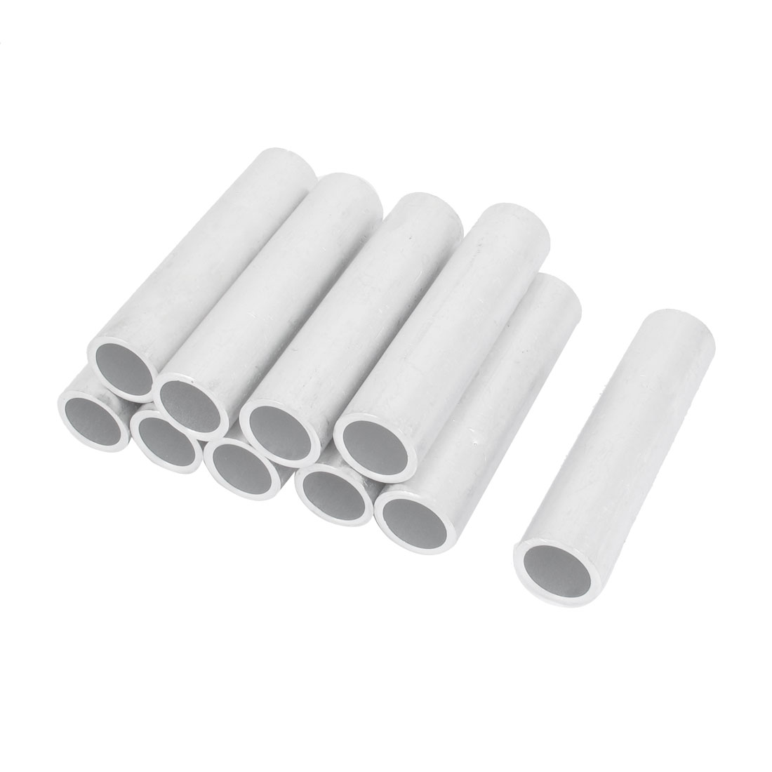 10PCS 20mm Inner Dia Straight Passing Through Aluminum Connecting Tube