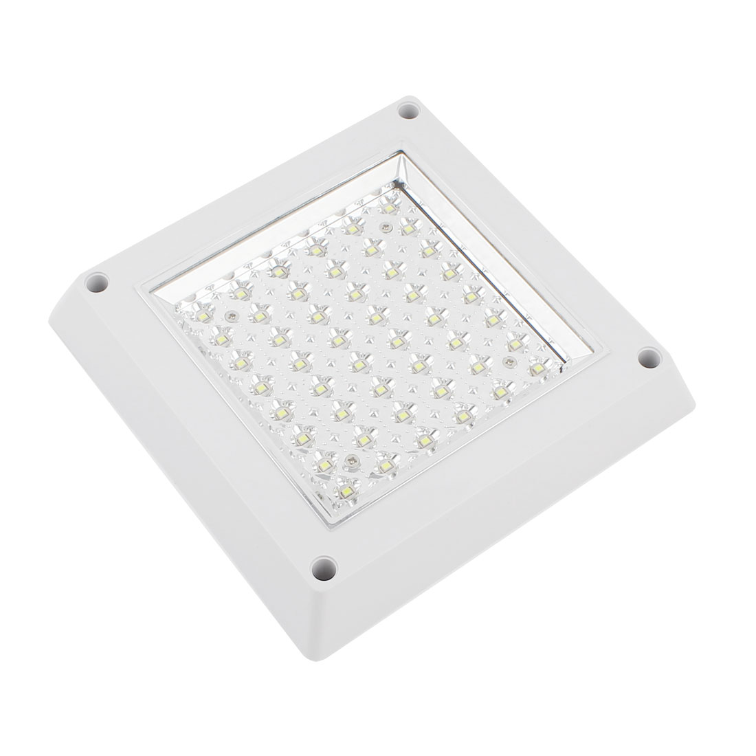 Surface Mount 48 LED White Ceiling Wall Downlight Square Panel Lamp Bulb 6W AC 220V