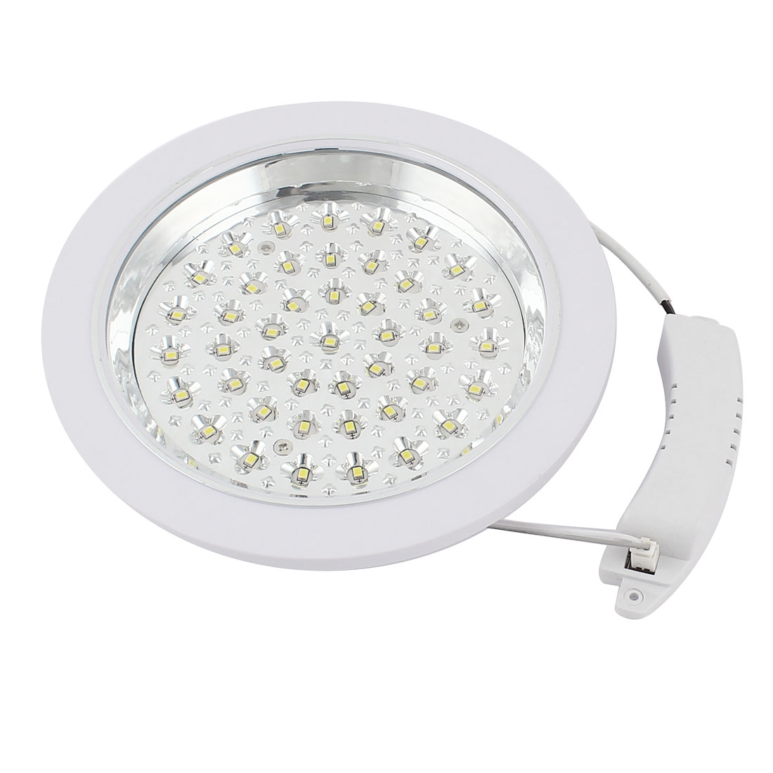 185mm Round Recessed Mount 54 LED White Downlight Ceiling Panel Lamp Bulb 4W AC 220V