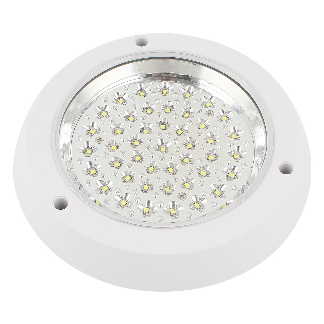Surface Mount 54 LED White Ceiling Wall Downlight Round Panel Lamp Bulb 6W AC 220V 19cm