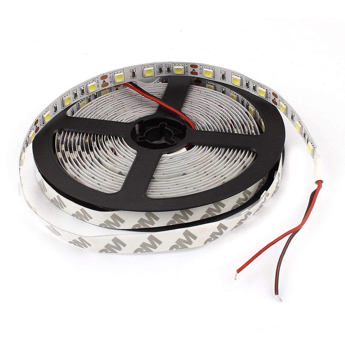 5m 5050 SMD 300 LEDs Non-Waterproof Flexible White LED Strip Light