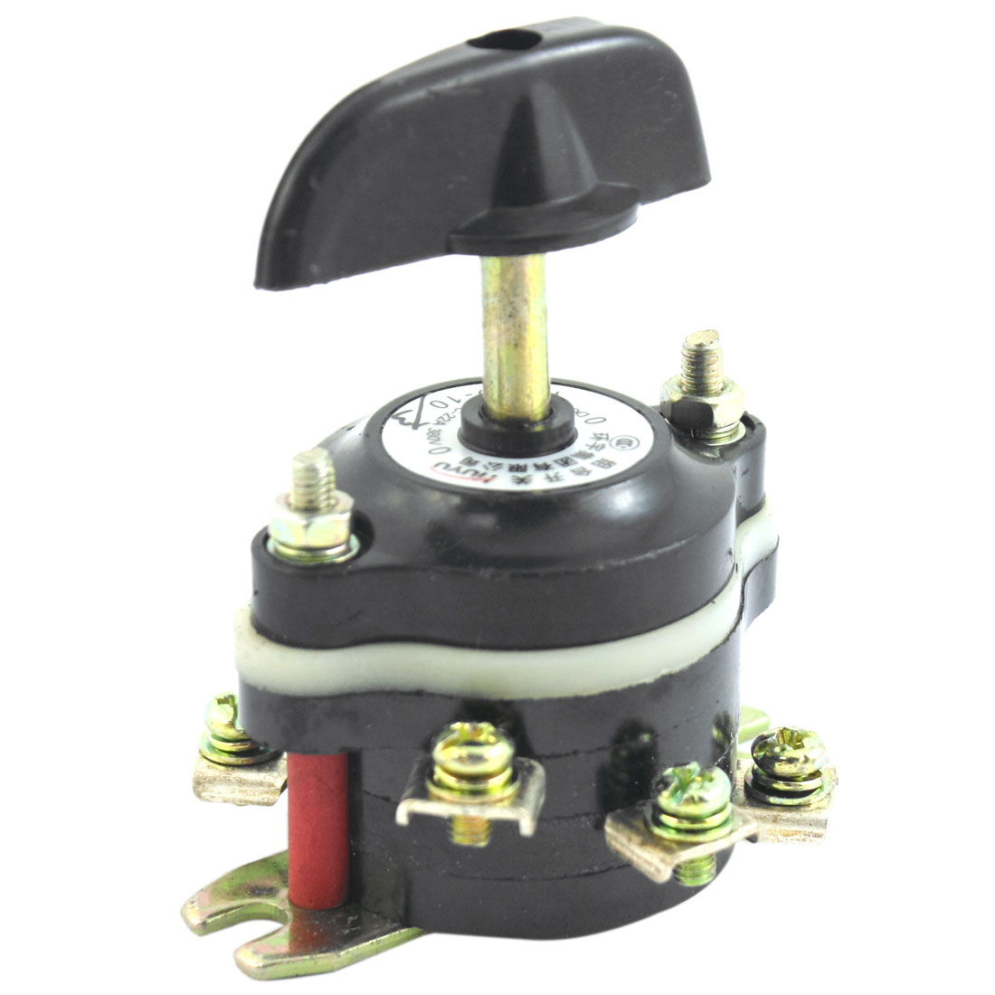 HZ10-10/3 DC220V 21A AC380V 22A 6 Screw Terminals 4-Position 3-Pole Rotary Selector Changover Switch