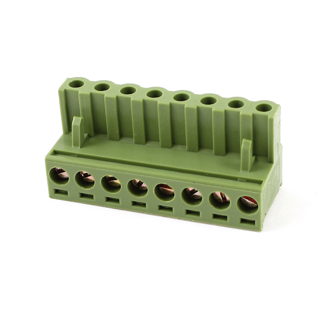 Green KF2EDGK 8 Position 5mm Pitch Screw Pluggable Terminal Blocks 300V 10A