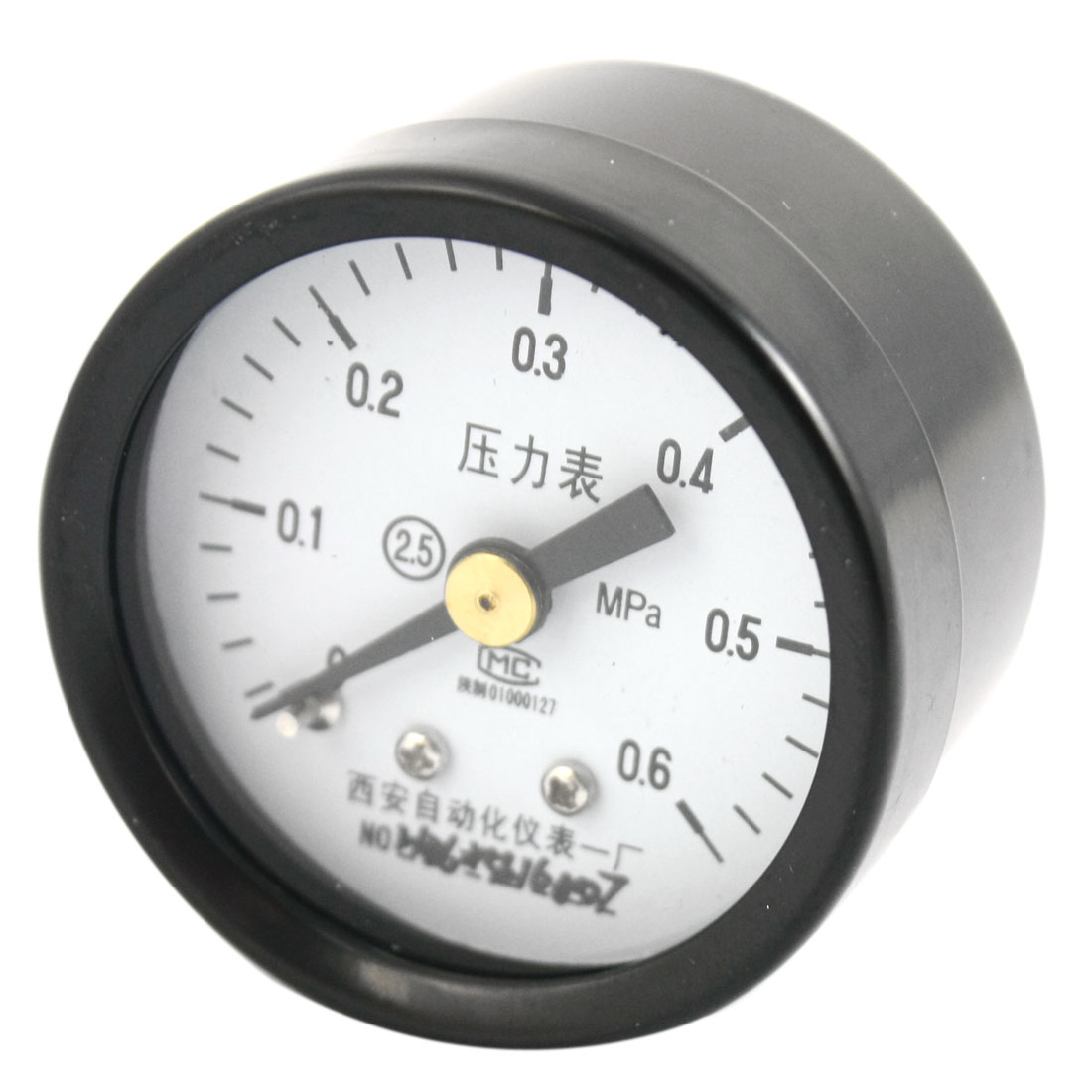 "1.4"" Dial 1/8PT Male Threaded 0-0.6Mpa Pneumatic Air Pressure Gauge"