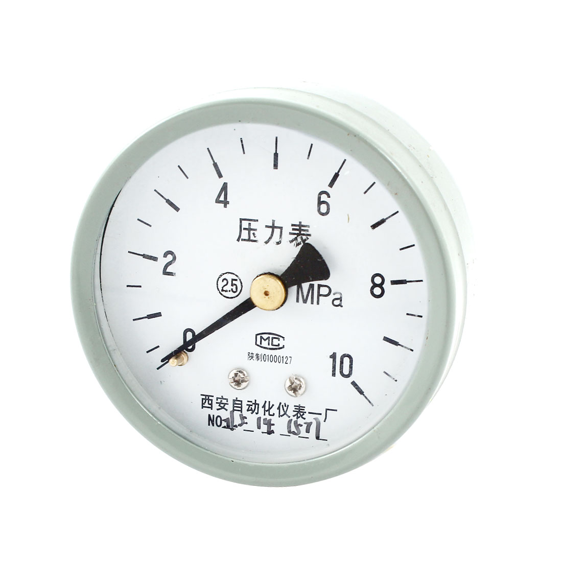 1/4PT Threaded 0-10Mpa Arabic Number Display Air Pressure Measuring Gaug